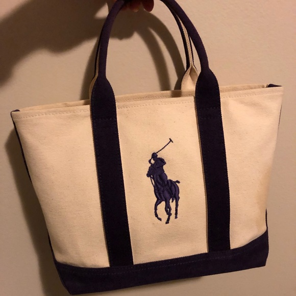 Polo by Ralph Lauren Canvas Tote. M 5a6a77299d20f06c27c33eae 03d2ea8123